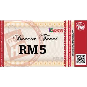 Baucer Tunai RM5