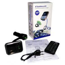 Hijau.fm BT Handsfree car kit with FM transmitter
