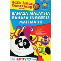 BELAJARLAH SAYANG - BAHASA MALAYSIA, BAHASA INGGERIS, MATEMATIK