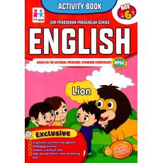 Activity Book - English (Age 6)