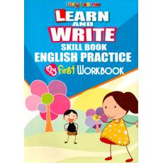 Learn And Write Skill Book English Practice My First Workbook