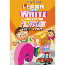 Learn And Write Skill Book Alphabet Capital Letters