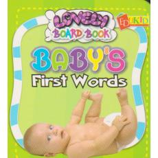 Lovely Board Book Baby's First Words