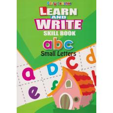 Learn And Write Skill Book abc Small Letters