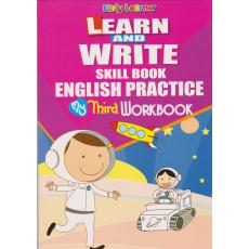 Learn And Write Skill Book English Practice My Third WorkBook