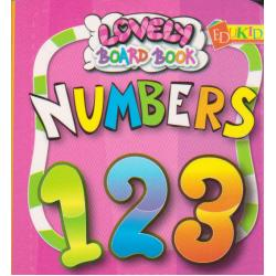 Lovely Board Book Numbers 123