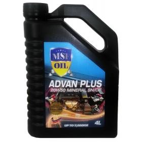 MSE Advan Plus 20W50 Mineral SN/CF
