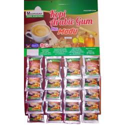 Kopi Arabic Gum Plus Madu (1 Papan)