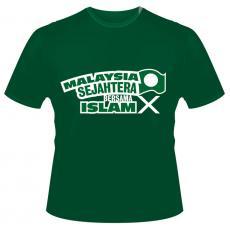 T-Shirt 'Malaysia Sejahtera Bersama Islam'