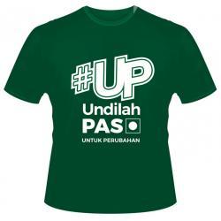 T-Shirt '#UP Undilah PAS'
