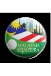 Button Badge 'Malaysia Sejahtera'