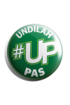 Button Badge '#UP Undilah PAS'