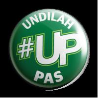 Button Badge '#UP Undilah PAS'