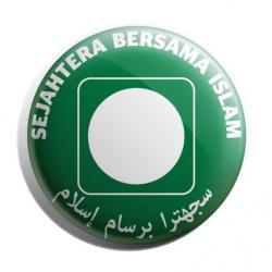 Button Badge 'Sejahtera Bersama Islam'