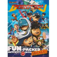 Boboiboy: Fun- Packed Activity with Stickers Book 1