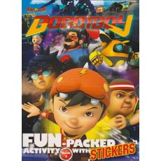 Boboiboy: Fun-Packed Activity with Stickers Book 2