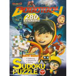 Boboiboy 280 stickers: Sudoku Puzzle Book 2