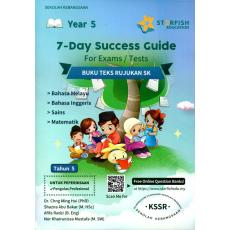 7-Day Success Guide For UPSR Exam Year 5 (Bahasa Melayu, English, Science, Mathematic)