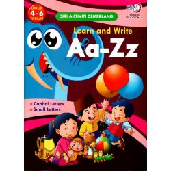 Learn and Write Aa-Zz (4-6 Tahun)