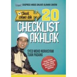 20 Checklist Akhlak