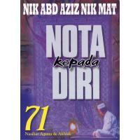 Nota Kepada Diri (71 Nasihat Agama dan Akhlak)
