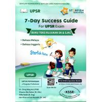 7-Day Success Guide For UPSR Exam (Science, Mathematic)